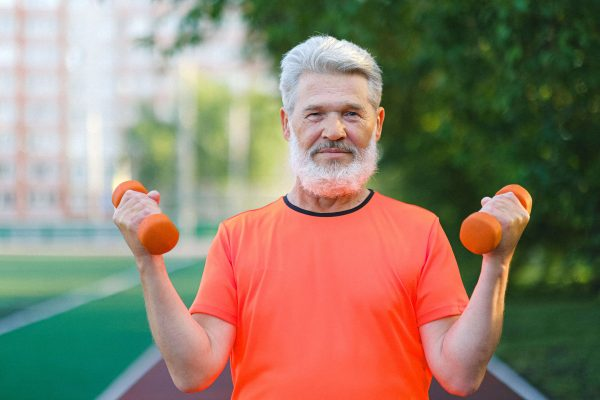 Help slow down age related muscle loss says Coach Joseph Webb