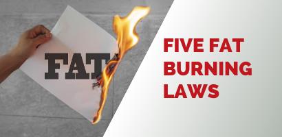 Five Fat Burning Laws -Coach Joseph Webb.