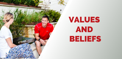 Values And Beliefs - Coach Joseph Webb.