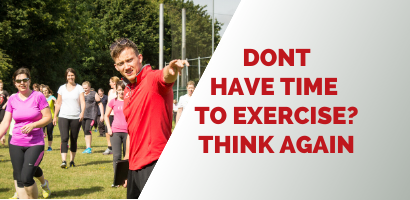 How to find time to exercise - Coach Joseph Webb