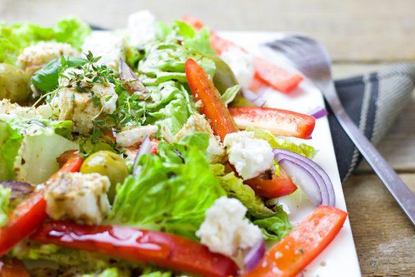 Salads Keep you fuller for longer - Coach Joseph Webb