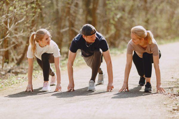 Add sprint training to your fitness routine -Coach Joseph Webb.