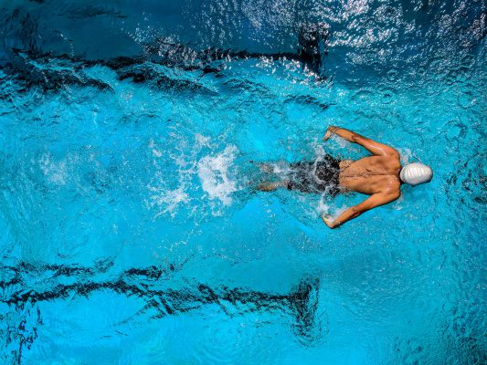 Swimming strengthens your cardiovascular system and tones your muscles - says Coach Joseph Webb