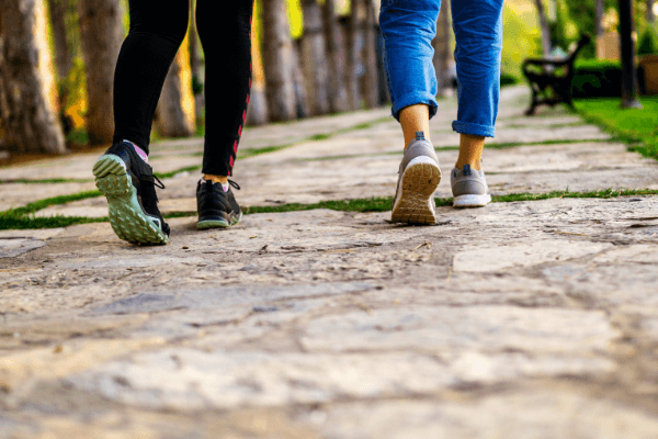 When to choose walking over running